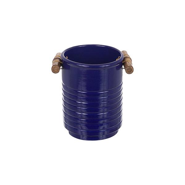 Porta Utensílios Bambu Azul