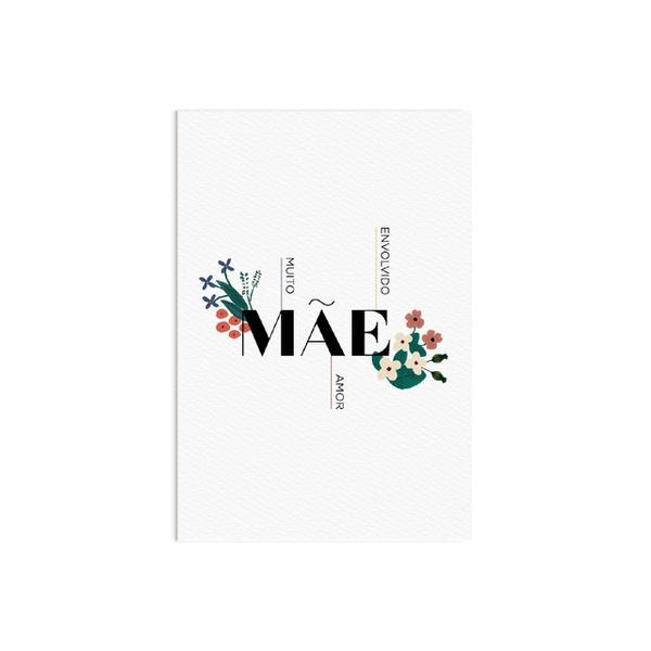 Cartão dia das mães Flora