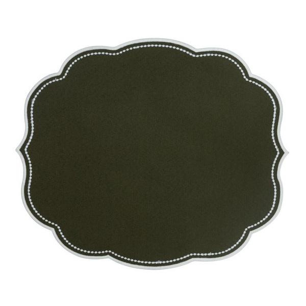 Jogo americano Provance Verde Militar