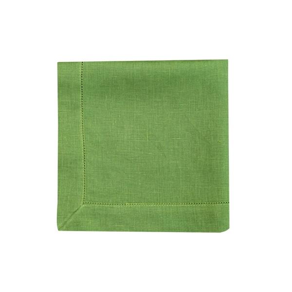Guardanapo Cambraia de Linho verde folha