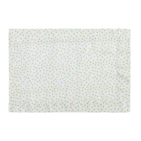 Jogo americano Yellow Dots