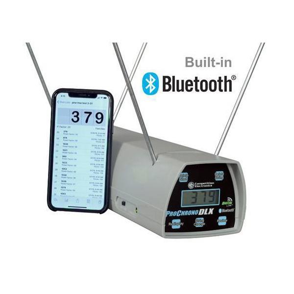 Cronógrafo balístico ProChrono DLX com Bluetooth