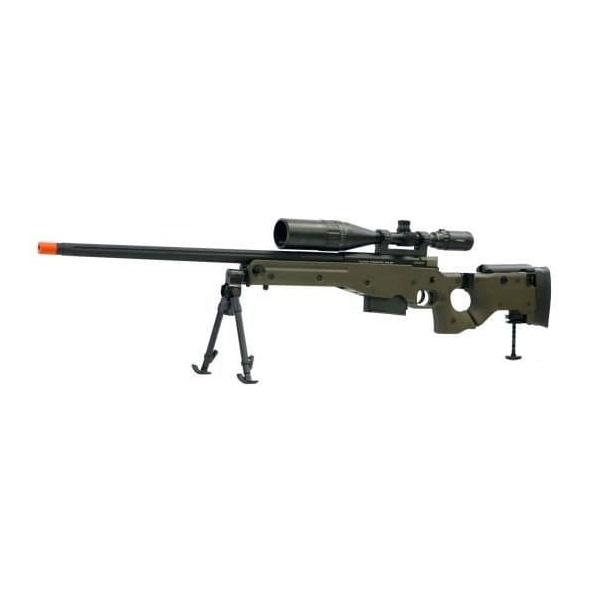 Rifle de airsoft ares sniper aw-338 spring power