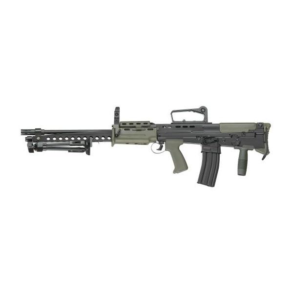 Rifle de Airsoft Elétrico ICS L86A2-86R