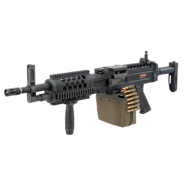 Rifle de Airsoft Elétrico ARES AEG LMG METAL MG-008