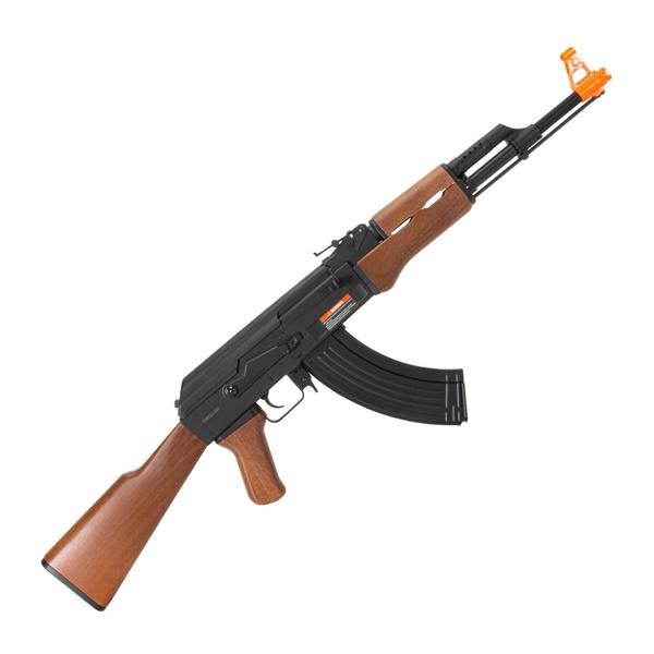 Rifle de airsoft Elétrico CYMA AEG AK47 CM522 WOOD