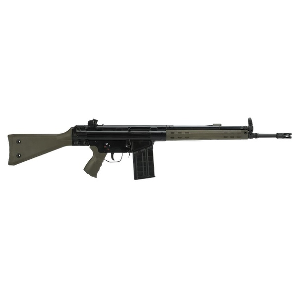 Rifle de Airsoft LCT AEG LC 3A3-S Steel Full Size Green