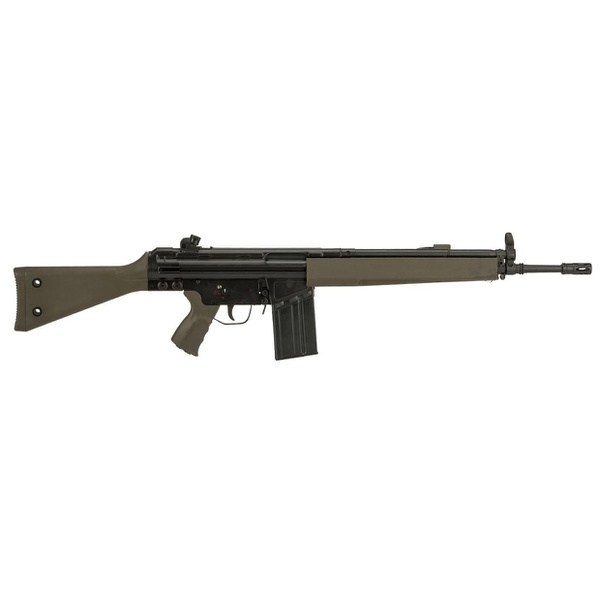 Rifle de Airsoft LCT AEG LC 3A3-W Steel Full Size Green