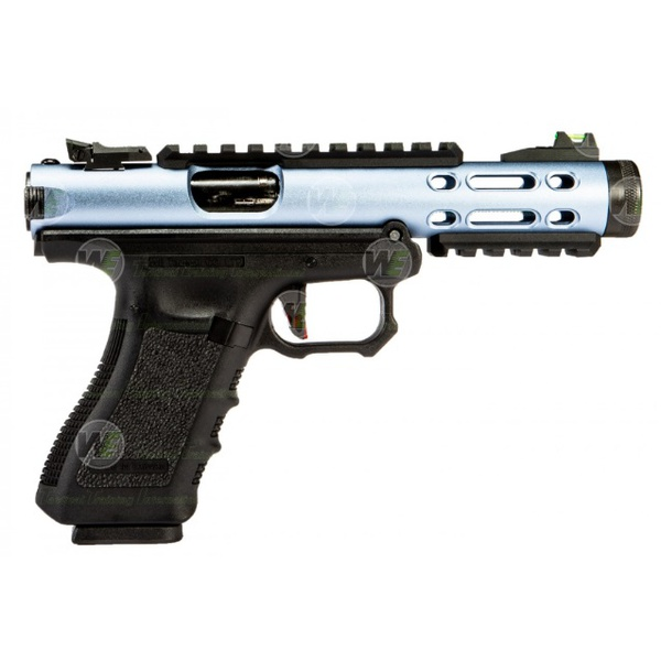 Pistola Airsoft gbb We Tech Galaxy-gx01-BLUE