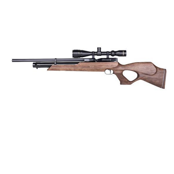 CARABINA DE PRESSAO PCP WEIHRAUCH HW100 T FSB FAC 30J 4,5mm