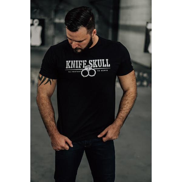 Camiseta Knife Skull Algema