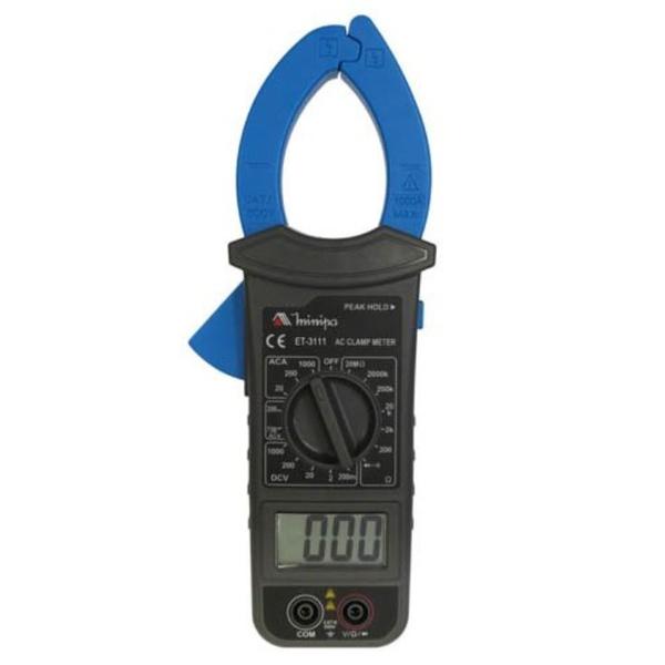 ALICATE AMPERÍMETRO DIGITAL AC 20A 200A 1000A ET-3111