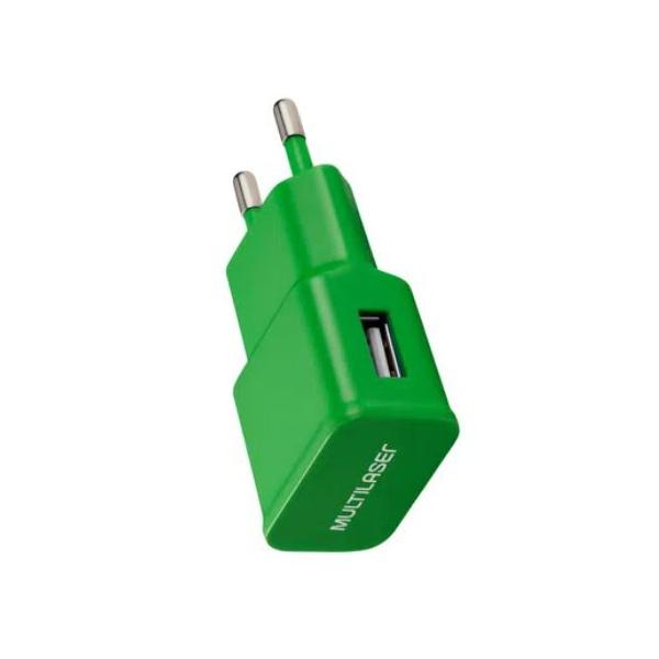 CARREGADOR DE PAREDE SMARTOGO BIVOLT USB - DIVERSAS CORES