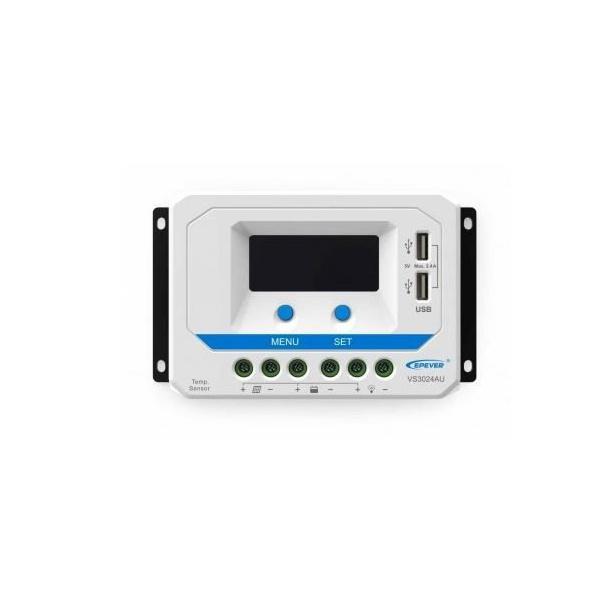 CONTROLADOR SOLAR 60A 12/24V 100V VS6024AU
