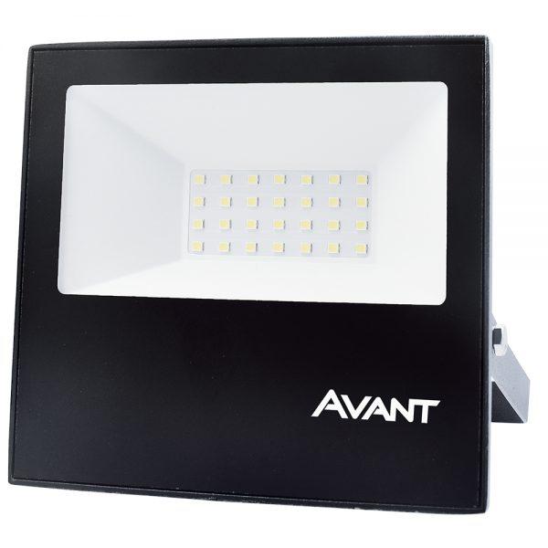 REFLETOR LED SLIM IP65 30W COM CONTROLE - LUZ COLORIDA (RGB)
