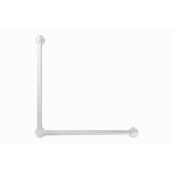 BARRA DE APOIO PVC EM L 36 mm x 40 cm x 40 cm
