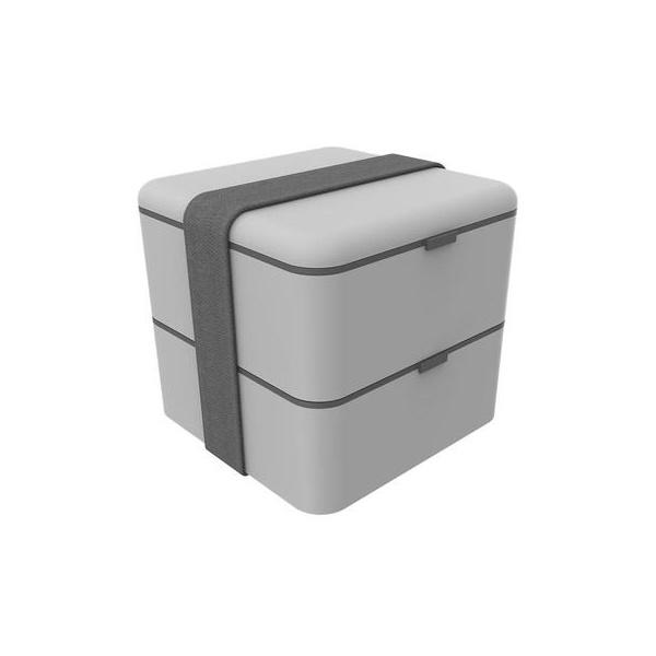 MARMITA BOX CINZA 1,5L