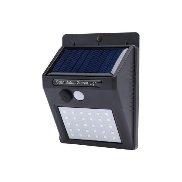 LUMINÁRIA SOLAR EXTERNA P/ JARDIM COM 20 LEDS