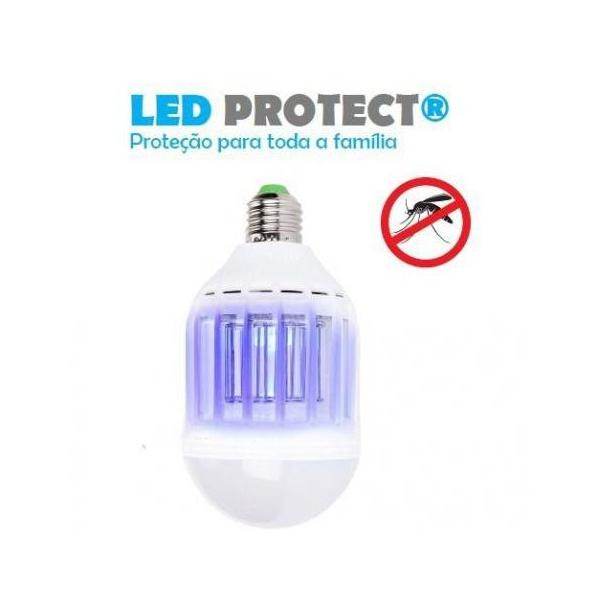 LÂMPADA LED PROTECT ANTI-INSETO 127V