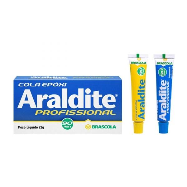 COLA EPOXI ARALDITE PROFISSIONAL 23G