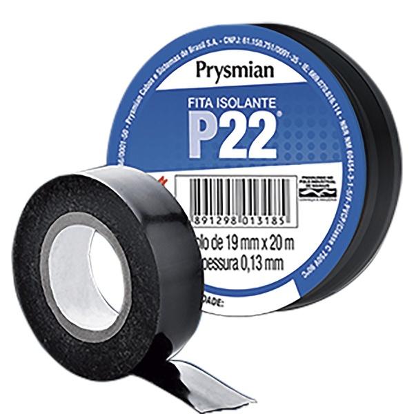 FITA ISOLANTE P22 PRETA