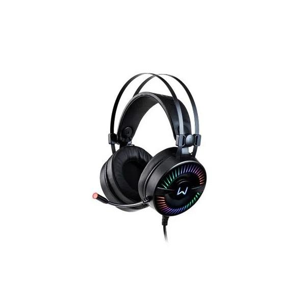 HEADSET GAMER WARRIOR FLAMMA USB 2.0 STEREO LED