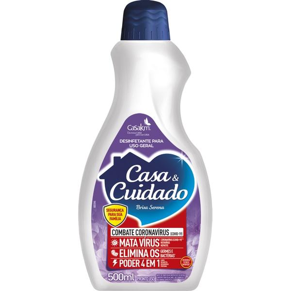 DESINFETANTE CASA & CUIDADO 500ML