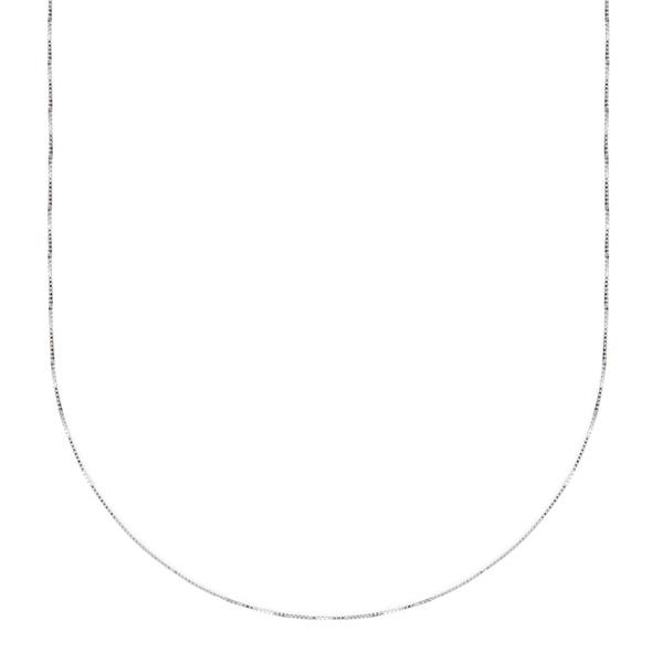 Corrente ouro branco 18k - Veneziana