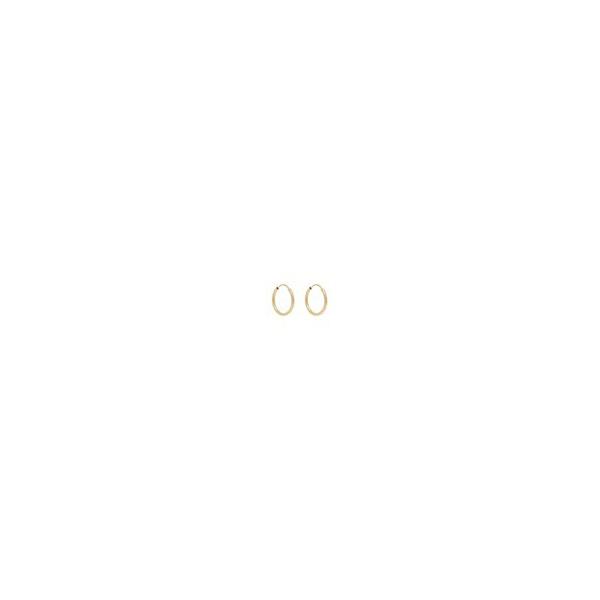 Brinco de ouro amarelo 18k - Argola