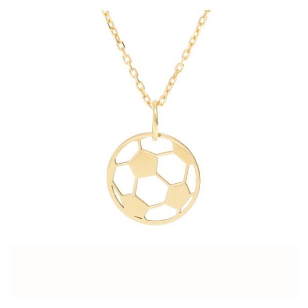 Pingente ouro amarelo 18k - Bola de futebol