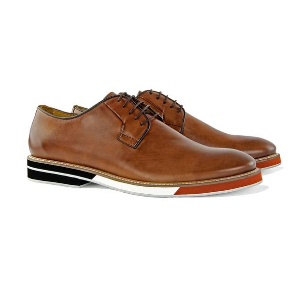 Sapato Masculino Derby de Couro