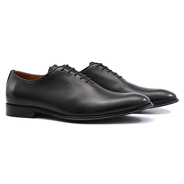 sapato social de couro masculino preto