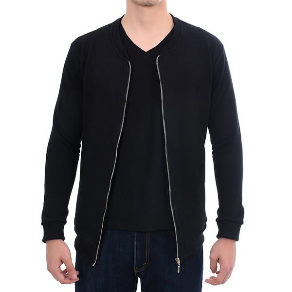 Suéter de Moletom Masculino Preto