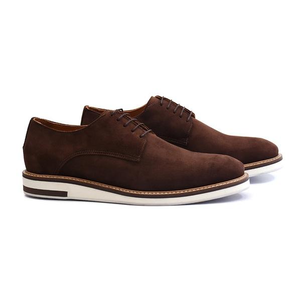 Sapato Masculino Derby de Couro Preto