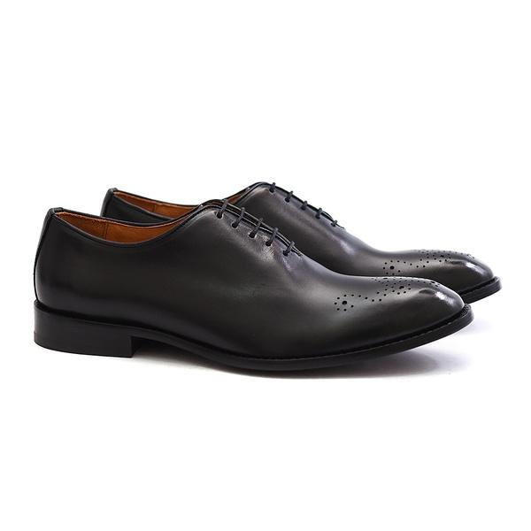 Sapato Social Masculino de Couro Preto