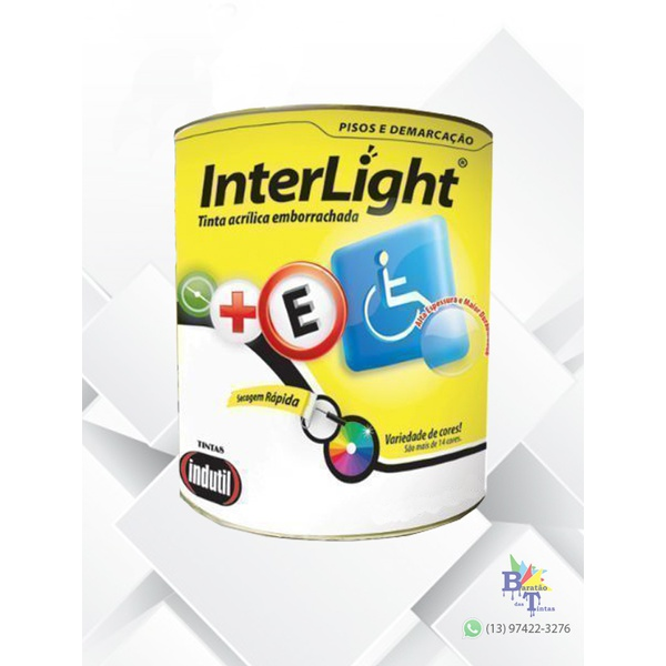 TINTA PARA PISO INTERLIGHT VERDE 18L