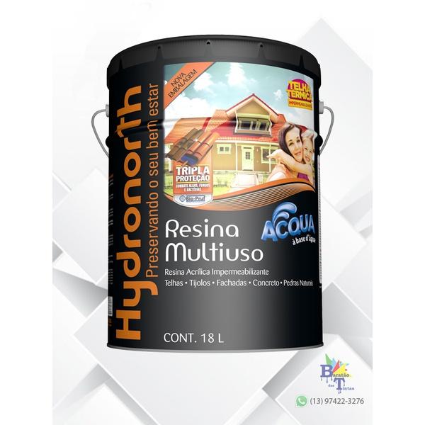 RESINA ACRÍLICA ACQUA VERMELHO ÓXIDO HYDRONORTH 18L