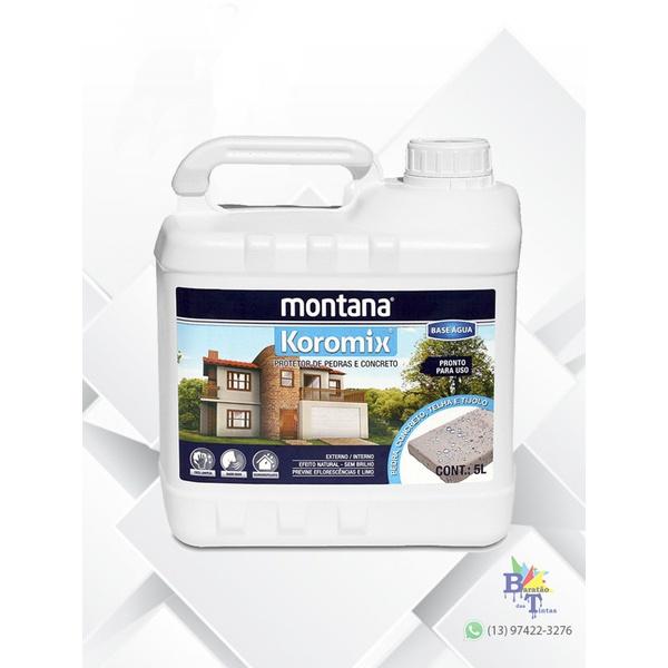 KOROMIX HIDROFUGANTE MONTANA 5L