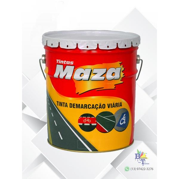MAZA PAV DEMARCAÇÃO PRETO 18L