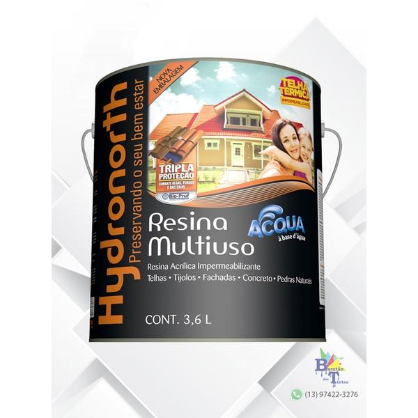 RESINA ACRÍLICA ACQUA CERÂMICA TELHA HYDRONORTH 3,6L