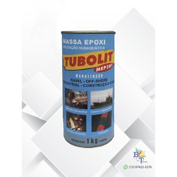 TUBOLIT 301 MASSA EPÓXI 1KG