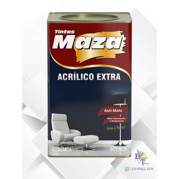 MAZA ACRÍLICO EXTRA BRANCO 18L