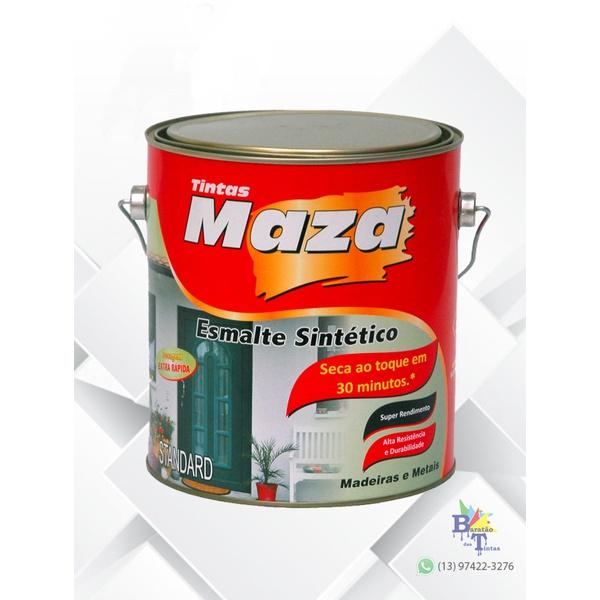 MAZA ESMALTE SINTÉTICO FOSCO PRETO 3,6L