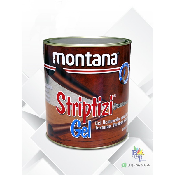 REMOVEDOR DE TINTA STRIPTIZI GEL 900ML