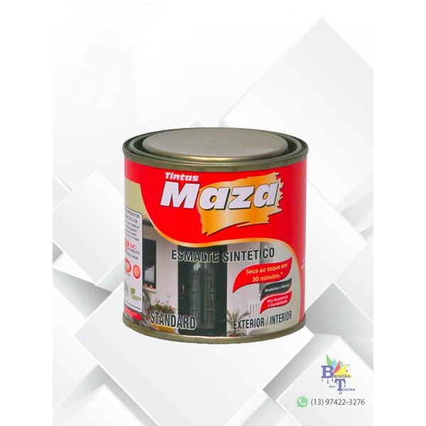 MAZA ESMALTE SINTÉTICO FOSCO PRETO 225ML