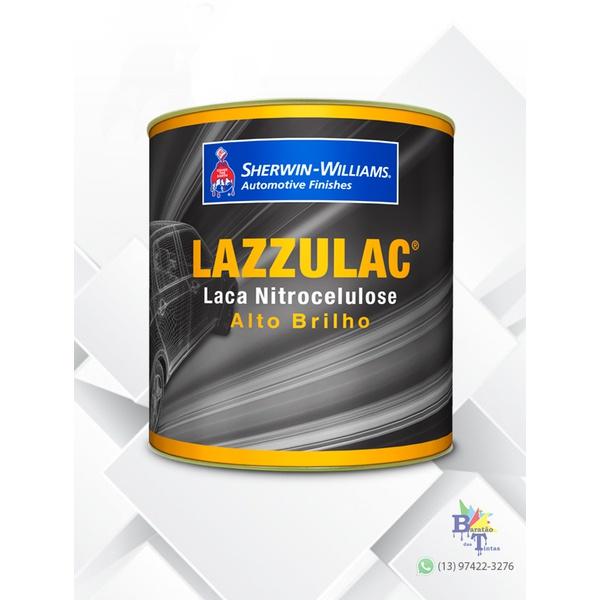 TINTA LACA NITROCELULOSE VERMELHO ROYAL LAZZURIL 900ML