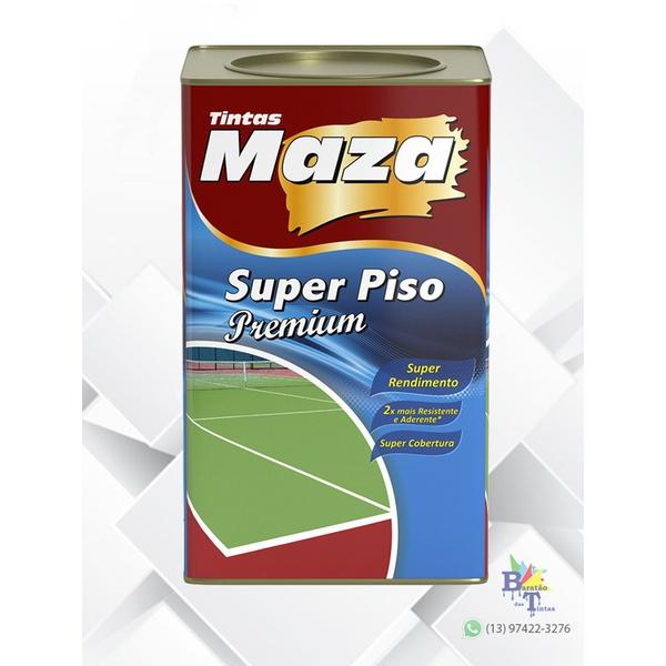 MAZA PISO AZUL 18L