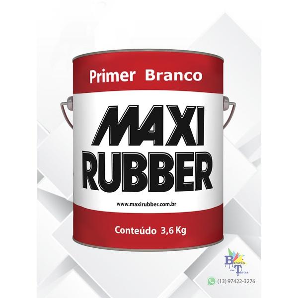 PRIMER BRANCO MAXI RUBBER 3,6L