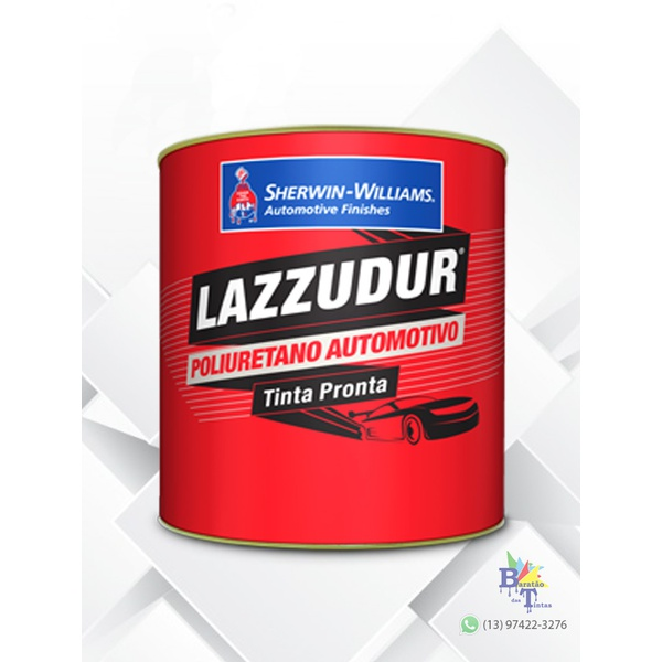 TINTA PU BRANCO GEADA 675ML LAZZURIL S/ CATALIZADOR