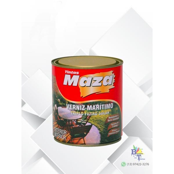 MAZA VERNIZ MARÍTIMO BRILHANTE NATURAL 225ML